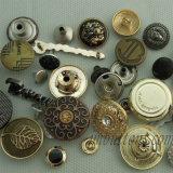 Gamentのためのスムーズな金属のスナップボタンのめっき