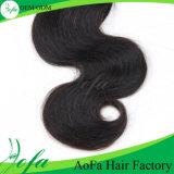 Aofaの卸し売り毛のブラジルのRemyの人間の毛髪の拡張