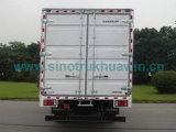 Carico utile di Isuzu 4X2 un euro IV Van Truck di bassa potenza da 5 tonnellate