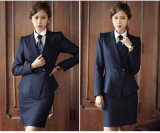 Feito a Measure Fashion Stylish Office Lady Formal Suit Fit magro Pencil Pants Pencil Skirt Suit L51635