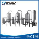 Alto precio industrial eficiente del evaporador del vacío del acero inoxidable del precio de fábrica