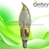 360deg CE&RoHS SMD5630 5W E14 LED Candles Light
