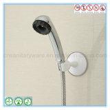 壁のMoutedのシャワー・ヘッドのための吸引のコップが付いている白い浴室のホールダー
