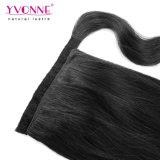 Couleur naturelle des cheveux humains Ponytails pour les femmes noires