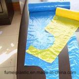 Grembiule bianco del PE dell'HDPE a gettare di plastica con 8.5g