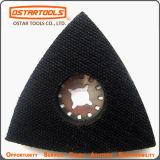 Almohadilla triangular de lengüeta de gancho y lazo