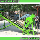 Grüne Farben-Ziegeleimaschine der Wante Marken-Wt2-10 für Eco Company