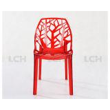 의자를 식사하는 고품질 잎