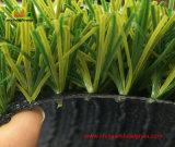 Dos tonos de hierba para el fútbol con revestimiento de goma SBR