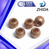 Os motores usaram a bucha de bronze aglomerada dada forma esfera da metalurgia de pó