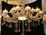Iluminación interior de la decoración europea de Phine con la lámpara pendiente de la aleación del cinc