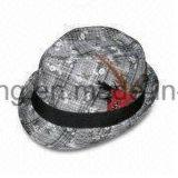 Шлем Fedora джентльмена людей, промотирование резвится бейсбольная кепка