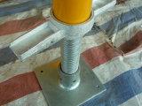 Échafaudage de bâti d'étayage 6 ' X4 avec le jaune canadien de blocage peint