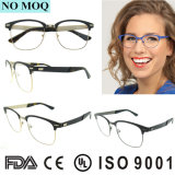 Frame popular Eyewear ótico redondo europeu do Eyeglass do metal de 2016 Hotsell