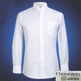Telas tingidas da camisa do Indigo do algodão da venda planície quente