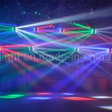 testa mobile del ragno RGBW LED di 8PCS 10W per illuminazione della fase (ICON-M080A)
