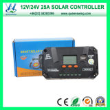 Free Charging (QWP-VS2524U)のQueenswing 12V/24V 25A Solar Controller