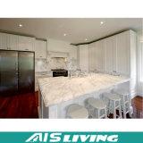 Mobília dos gabinetes de cozinha do revestimento da laca com console de cozinha (AIS-K164)