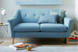 Sistema popular del sofá de la tela de Seater de la sala de estar moderna 3