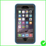 Caja triple del teléfono celular del defensor para el iPhone 6