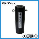Cylindre hydraulique à longue course télescopique à double action de série de rr