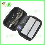Unità di elaborazione EVA Hard Drive Bag di EVA su ordinazione Hard Shell con Zipper (AEC-023)