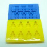 Plateau de chocolat de silicones de cadeau de mode de vaisselle de cuisine de FDA