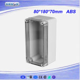 Ясная коробка 80X180X70mm крышки IP66 ABS/PC Toyogiken водоустойчивая