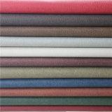 2016 couros sintéticos da mobília do PVC do estilo retro para o material do sofá