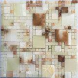 Mattonelle di pavimento di marmo di pietra naturali del marmo delle mattonelle del materiale da costruzione (FYSC368)