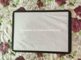 2 Falte Hotel Transparent Menu Holder Covers mit Leather Coated