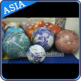 Aerostato gonfiabile dell'elio del pianeta di illuminazione, terra, luna, Jupiter, Saturno, Uranus, Nettuno, Mercury, Venus, aerostato del Marte