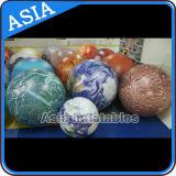 Aufblasbarer Ablichtungs-Planeten-Helium-Ballon, Masse, Mond, Jupiter, Saturn, Uranus, Neptun, Mercury, Venus, Mars-Ballon