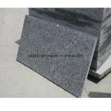 Piedra Natural G654 Pavimento de suelo de granito flameado para Pavimentación