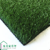 Sin la hierba artificial verde del sintético del balompié de la arena 35m m