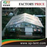 12X15m transparentes Hochzeits-Zelt für im Freienhochzeits-Zeremonie