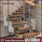 Acero encordado casero de madera Escaleras Diseños (DMS-3035)