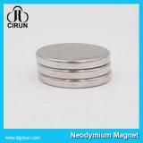 Ímã redondo fino pequeno do Neodymium do disco para a caixa de embalagem
