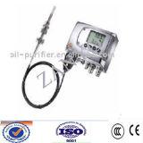 Détecteur d'humidité de pétrole de transformateur/appareil de contrôle de teneur en eau de capteur humidité de pétrole