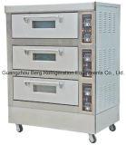 케이크 굽기 기계 3 갑판 6 쟁반 전기 빵집 오븐