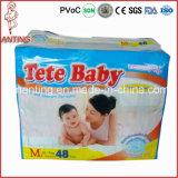 De goedkope Luier van de Baby van Prijzen, de Fabriek van de Luier van de Baby, de Luier Afrika van de Baby