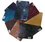 Искусственная PU кожа PU Semi для софы мебели, крышки места автомобиля