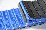 Anti-Slip пластичная модульная конвейерная с резиной