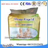 ガーナの熱い販売法の極度のSantiのおむつの/Cottonの赤ん坊Diapersfrom