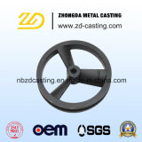China OEM Grey Pig Iron Flywheel by Sand Casting
