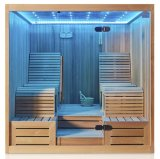 Monalisa Luxury Two Lounges Sauna Sexy Dry Sauna Room (M-6050)