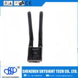 Trazo principal video aéreo de los vidrios video de los anteojos 3D de Fpv, entrada de información de HDMI y expediente de DVR