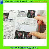 Hw-802A 86*53mm PVC 신용 카드 크기 돋보기 3X 6X 선전용 신용 카드 크기 돋보기