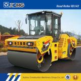XCMGの公式の製造業者Xd142 14tonの二重ドラム道ローラー