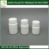 Bottiglia di pillola di plastica del PE 25ml con il coperchio a vite